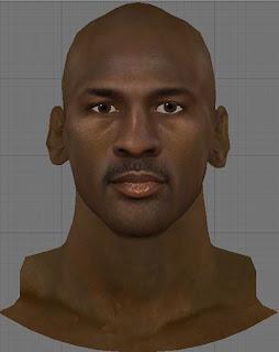 NBA 2K13 Michael Jordan Cyberface Patch