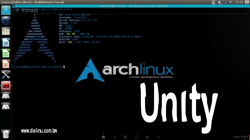 Unity no Arch Linux