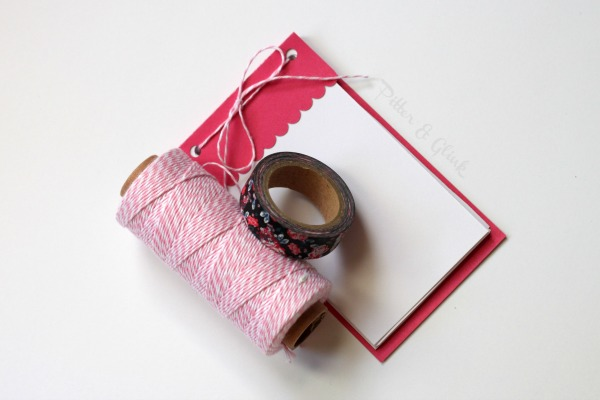 DIY Mini Notepads with Free Silhouette Cut File via pitterandglink.com