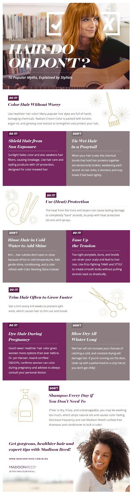 10 hair hacks