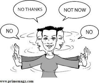 how to say no