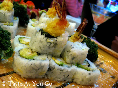 Shrimp Tempura Roll at Amura - Dr. Phillips in Orlando, FL (Photo by Michelle Judd of Taste As You Go)
