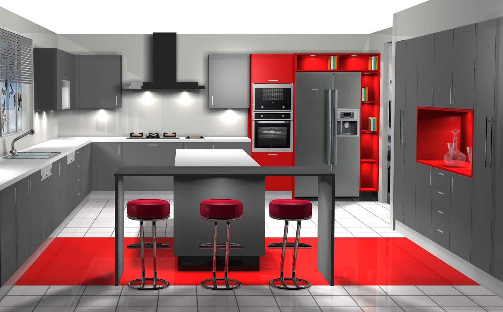 Dise o muebles de cocina dise o de cocina comedor en madera for Cocinas en hiraoka 2016