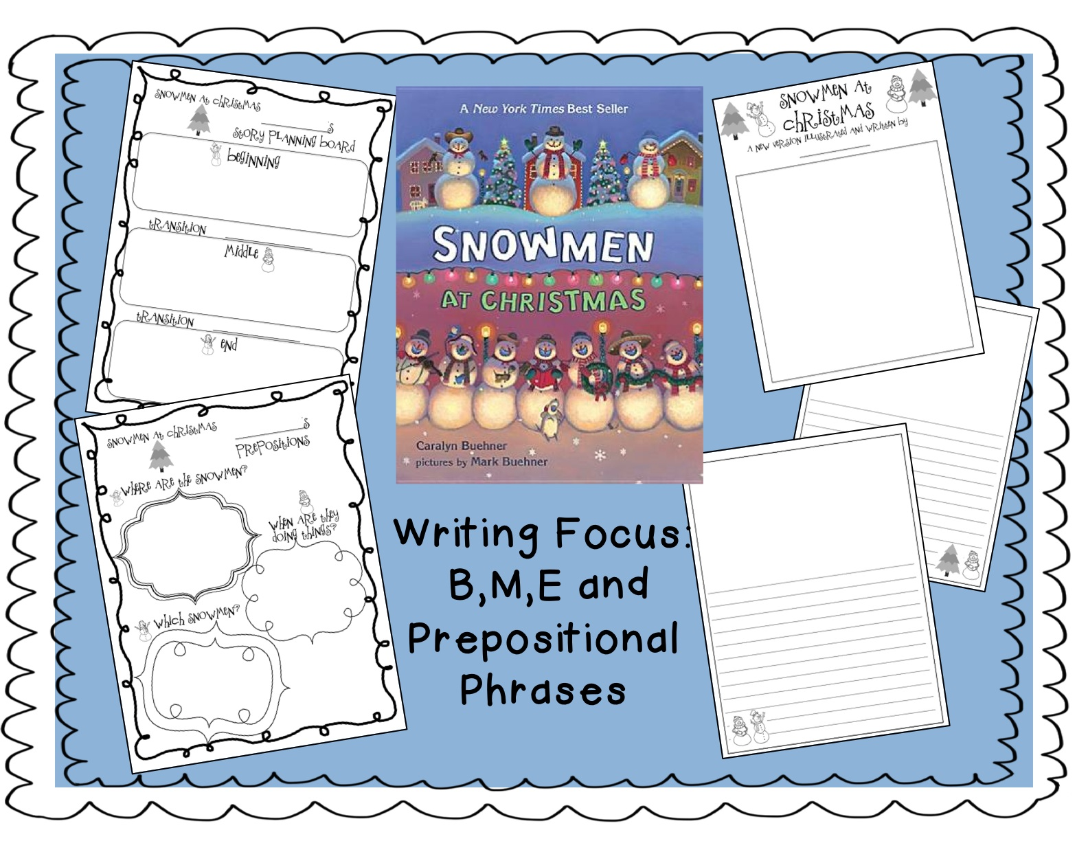 Christmas creative writing worksheets Coursework Service ...
