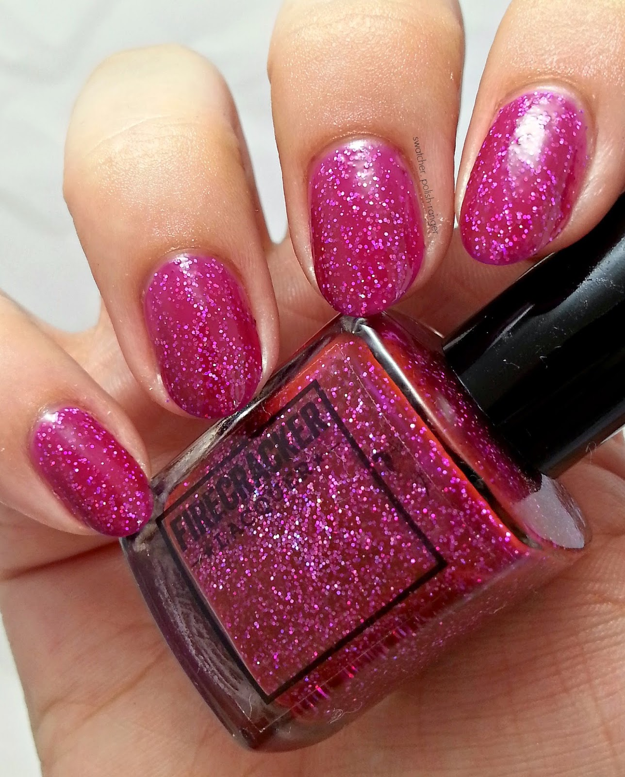 Firecracker Lacquer Girl Fight swatch
