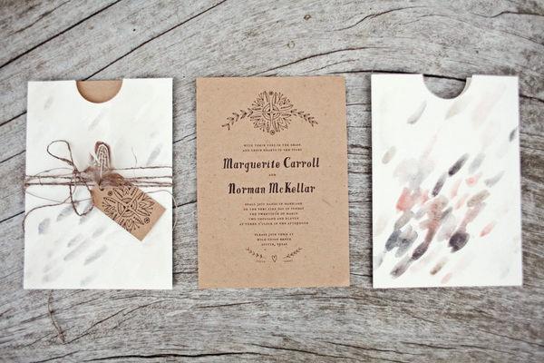 Tarjetas De Matrimonio Rustico : Muyameno tarjetas de boda rusticas parte
