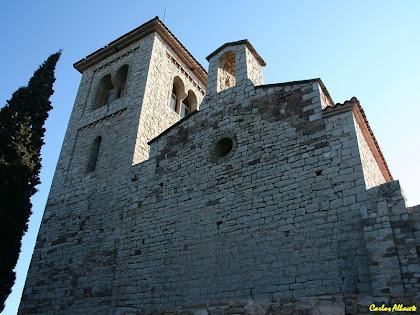 L'església de Santa Maria de Puig de la Creu. Autor: Carlos Albacete