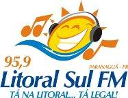 ouvir a Rádio Litoral Sul FM 95,9 ao vivo e online Paranaguá - Paraná
