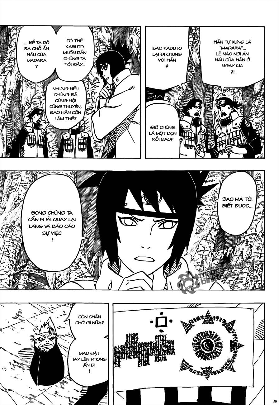 Naruto chap 490 Trang 9 - Mangak.info