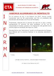 HABEMUS ALUMBRADO EN MONTEALTO