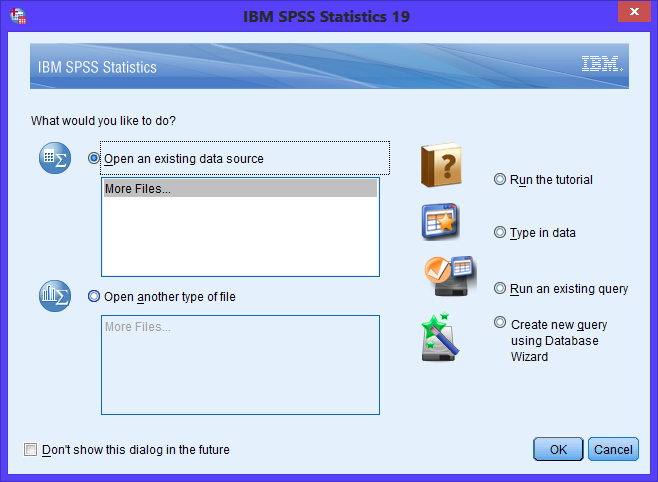 Cara Install IBM SPSS Statistic v19 di Windows 8