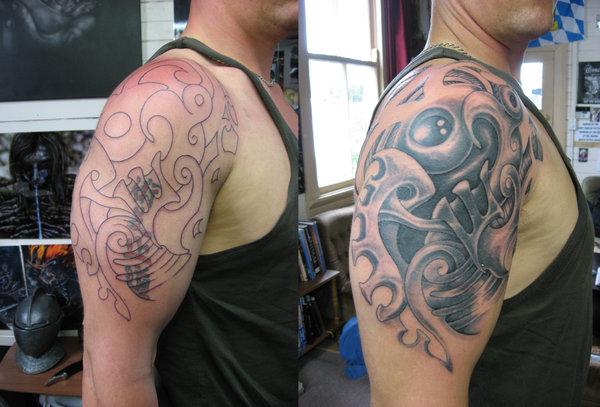 An expedition into the ideas surrounding christian for Tribal tattoos for cover up