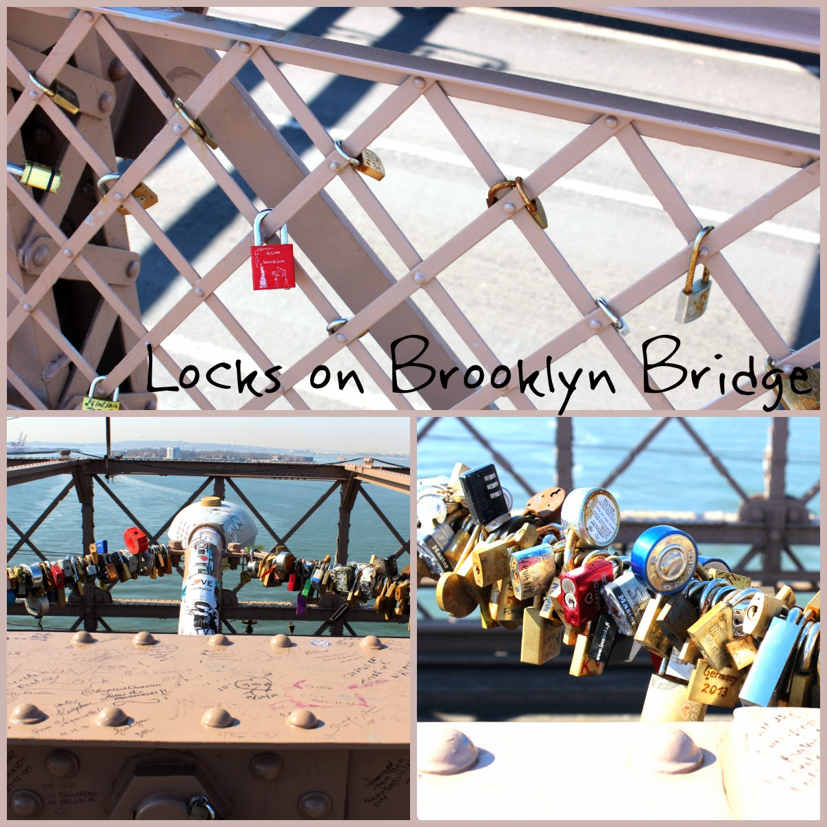 Brooklyn Bridge Locks
