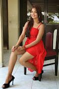 Ashwini glamorous photos in red-thumbnail-12