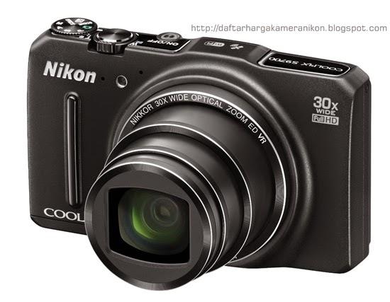 Harga dan Spesifikasi Kamera Nikon Coolpix S9700