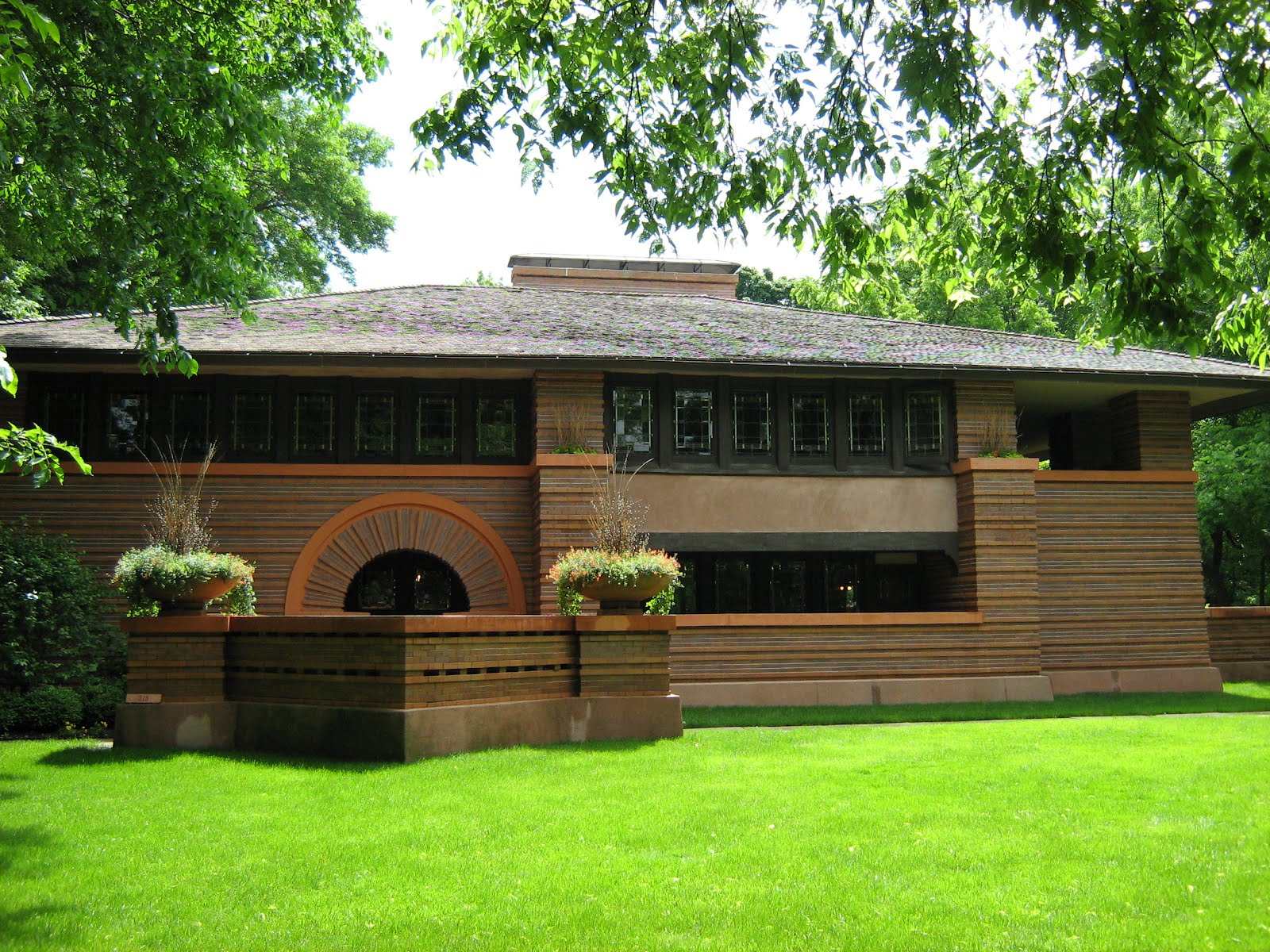 D 39 arsie arquitetura frank lloyd wright for Frank lloyd wright list of houses