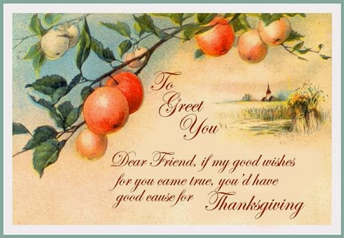 Best Thanksgiving Greetings Message