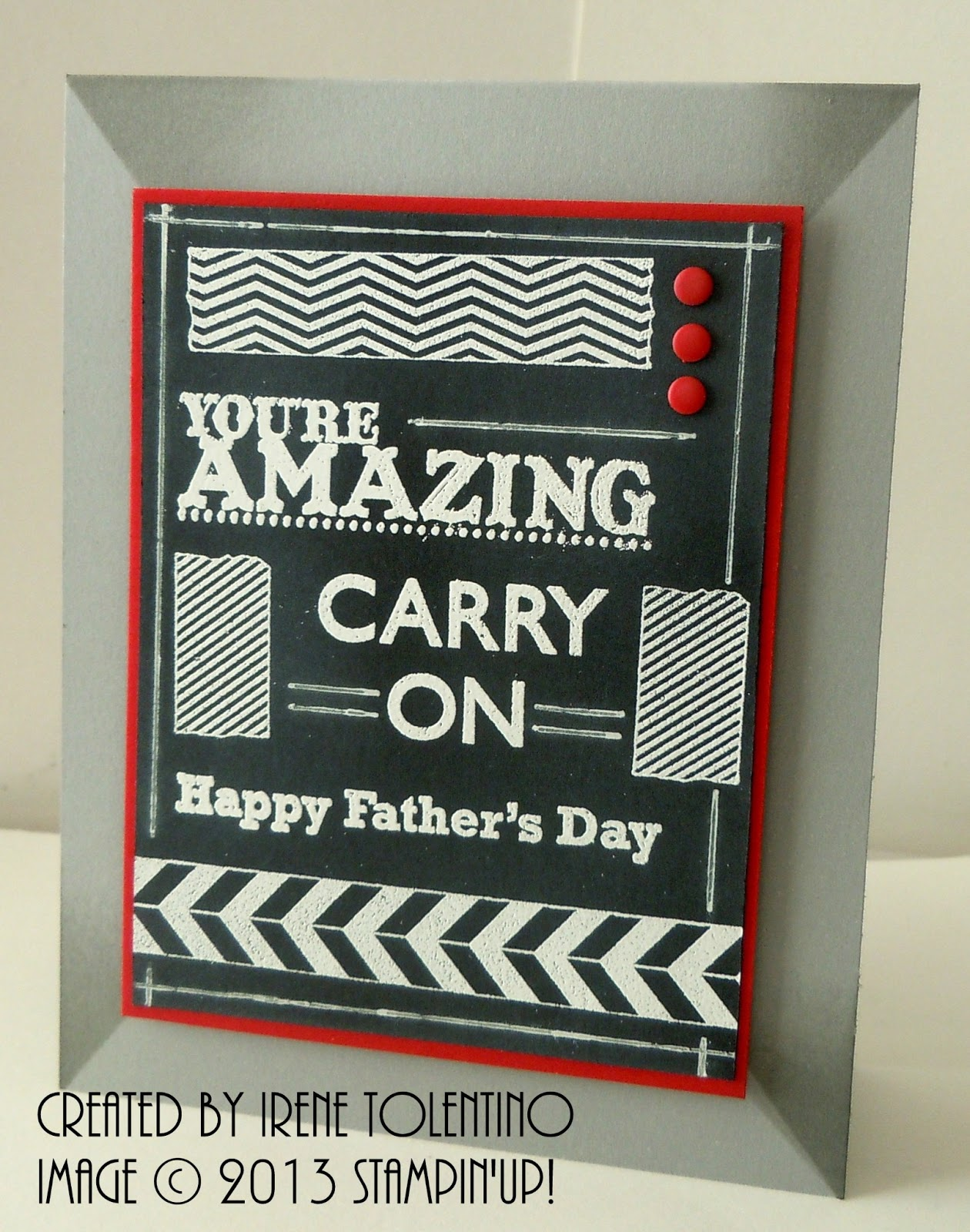 relax  make a card  tape it chalkboard frame father u0026 39 s day card