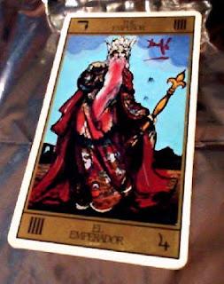 El Emperador. Tarot