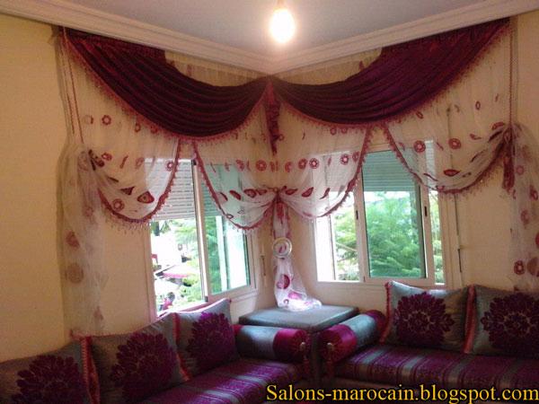Model De Rideau Pour Salon Moderne : Décoration Salon Marocain ...