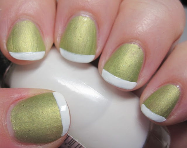 imagine a big scoop of Green Tea ice cream in a white bowl