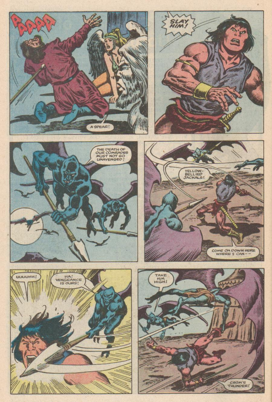 Conan the Barbarian (1970) Issue #168 #180 - English 19