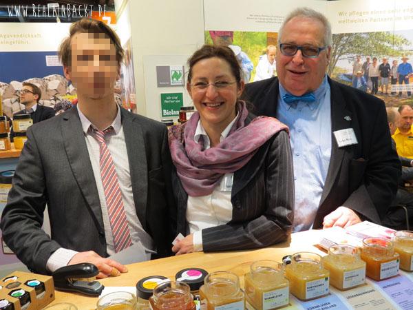 Walter Lang Sonnentracht GmbH auf der BIOFACH Messe Nürnberg 2015 rehlein backt