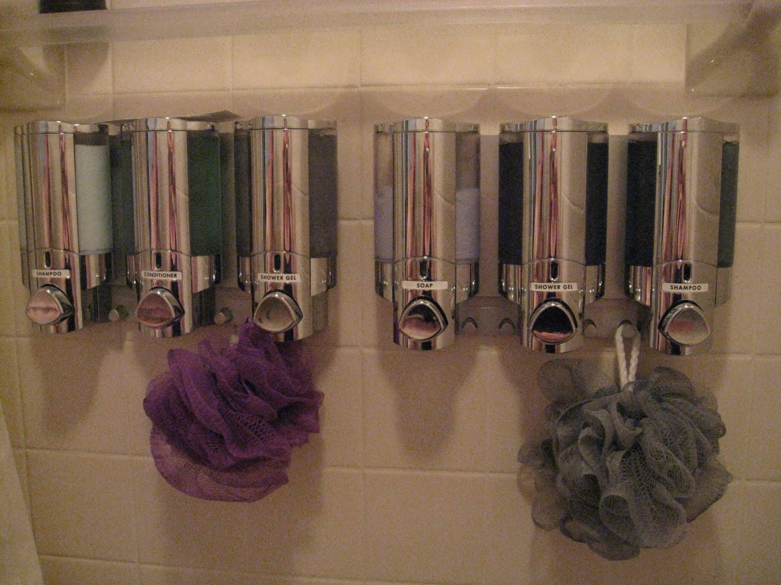 Bonz Blogz: Shower Organization