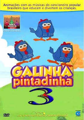 Capa - Galinha Pintadinha 3