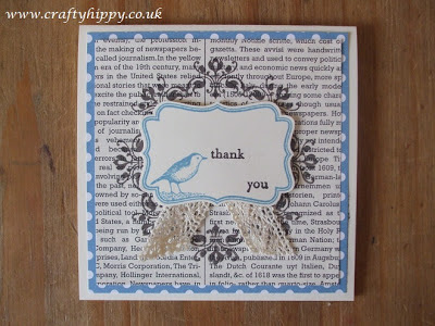 Four Frames, Daydream Medallions, Birds, Stampin' Up!