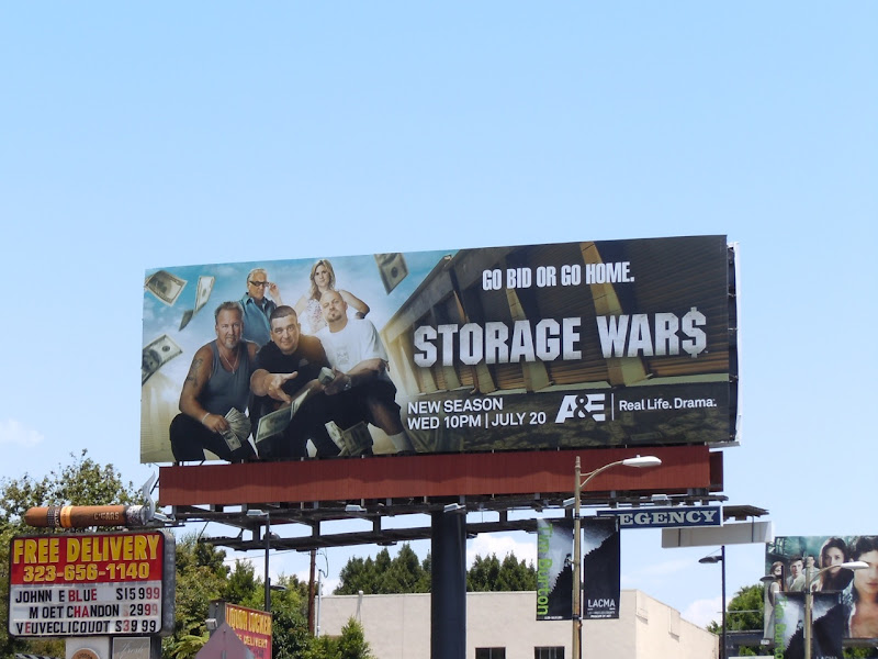 Storage Wars season 2 TV billboard