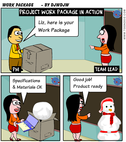 Project Work Package in Action
