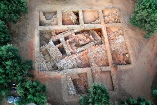 Ο Άγιος Βασίλειος του Ξηροκαμπίου: «Κτίριο Α» (ανασκαφική περίοδος 2011)