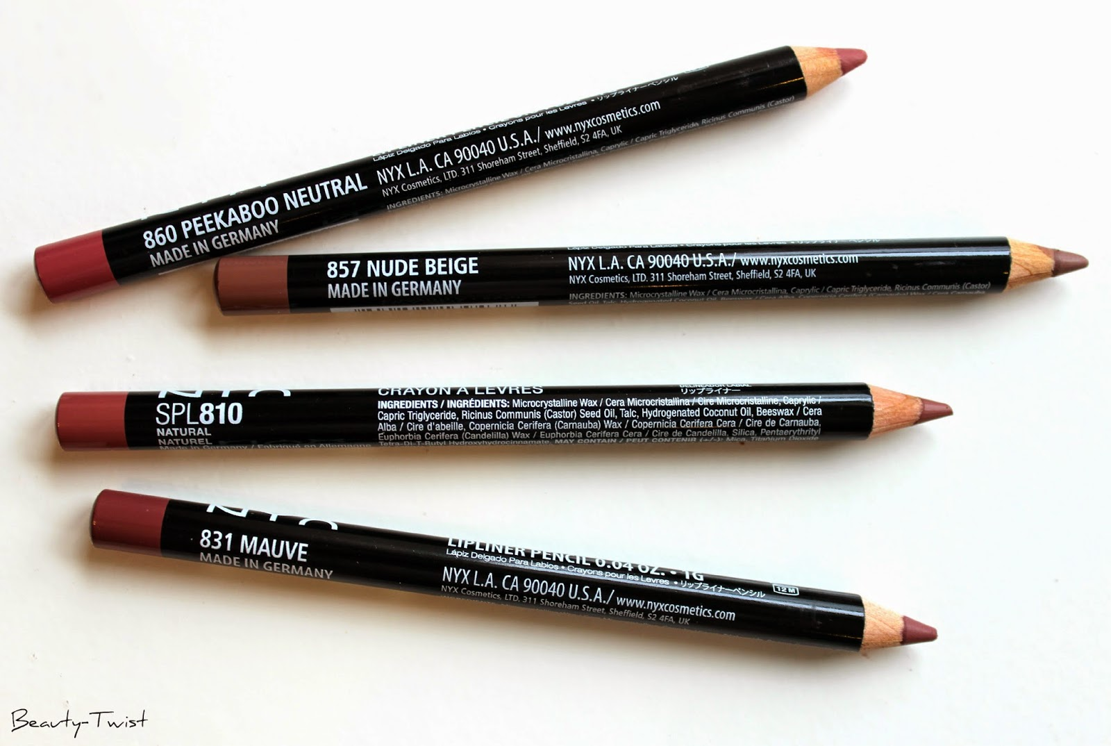 NYX Slim Lip Pencils Review & Swatches