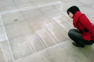 Creative and Cool 3D Chalk Drawings (10) 1