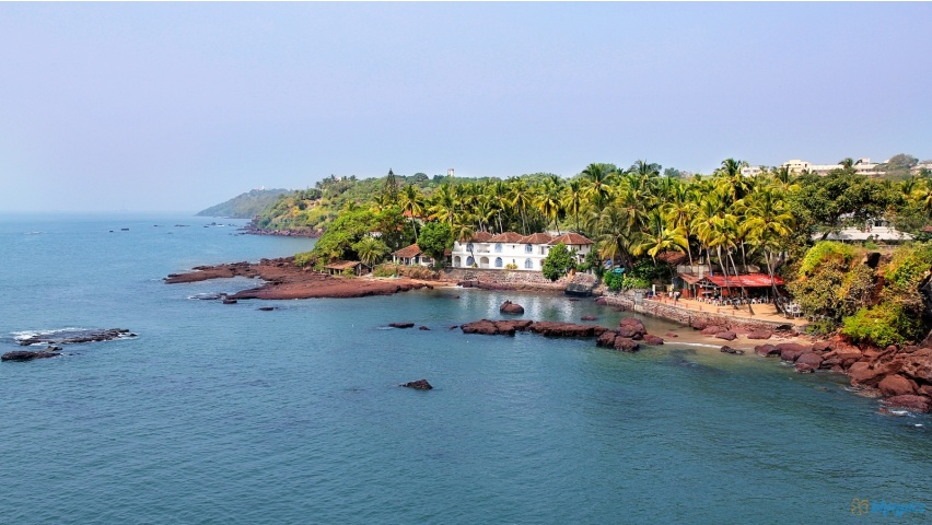 Goa beach Sceneries, India