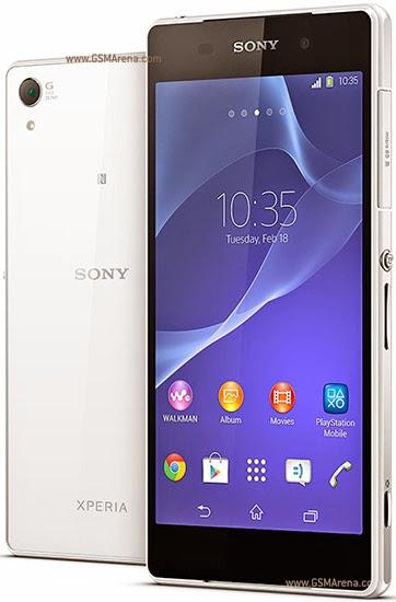 Harga Sony Xperia Z2 2014