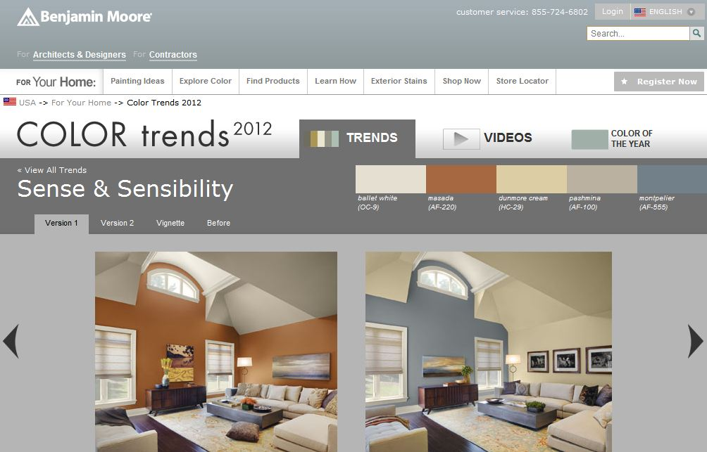 Forget The Paint Chips Bt2 Internet Interiors