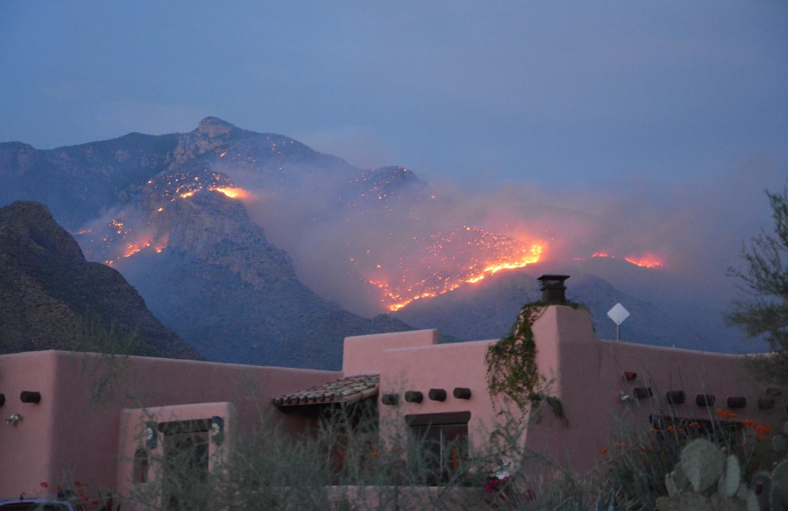 Living on winchester ranch fire in the santa catalina mountains i write this burning up to the top of what is visible from the foothills of the santa catalina mountains the northern boundary of the city of tucson publicscrutiny Gallery