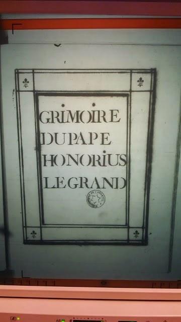 grimoire du pape honorius pdf