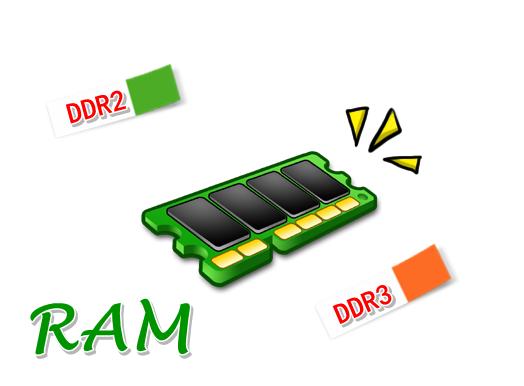 Cara Melihat Type Ram DDR 2, DDR3 dan kapasitas