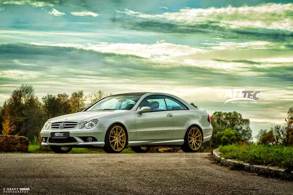 Mercedes benz w209 clk55 amg on deluxe wheels benztuning for Mercedes benz clk55 amg