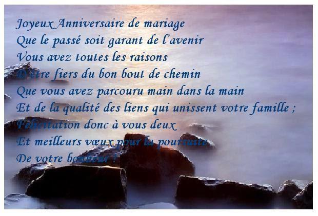 citation anniversaire de mariage - 50me Anniversaire De Mariage Texte
