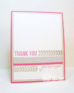 You're a Gem card-designed by Lori Tecler/Inking Aloud-stamps from Clear and Simple Stamps