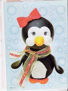 Aprenda a Fazer um Pote de Pinguim