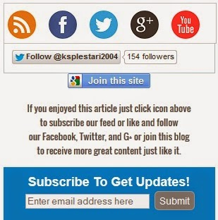 Simple Subscription Widget for Blogger