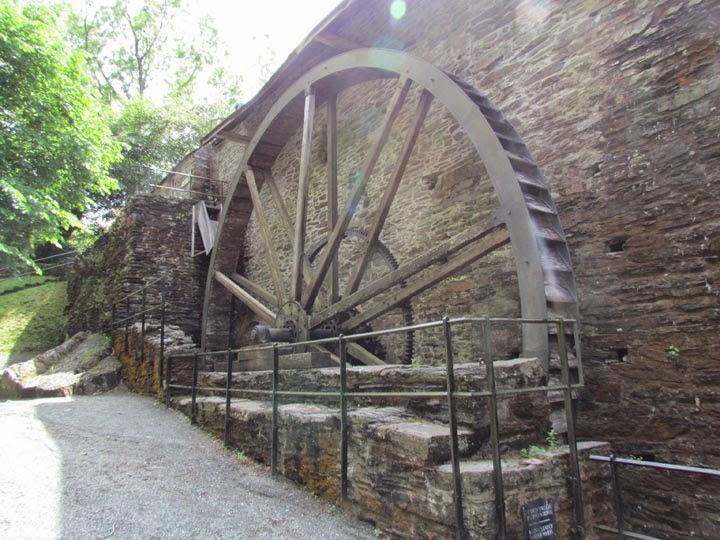 Dyfi Furnace water wheel