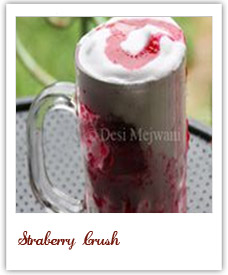 Straberry Crush with Cream