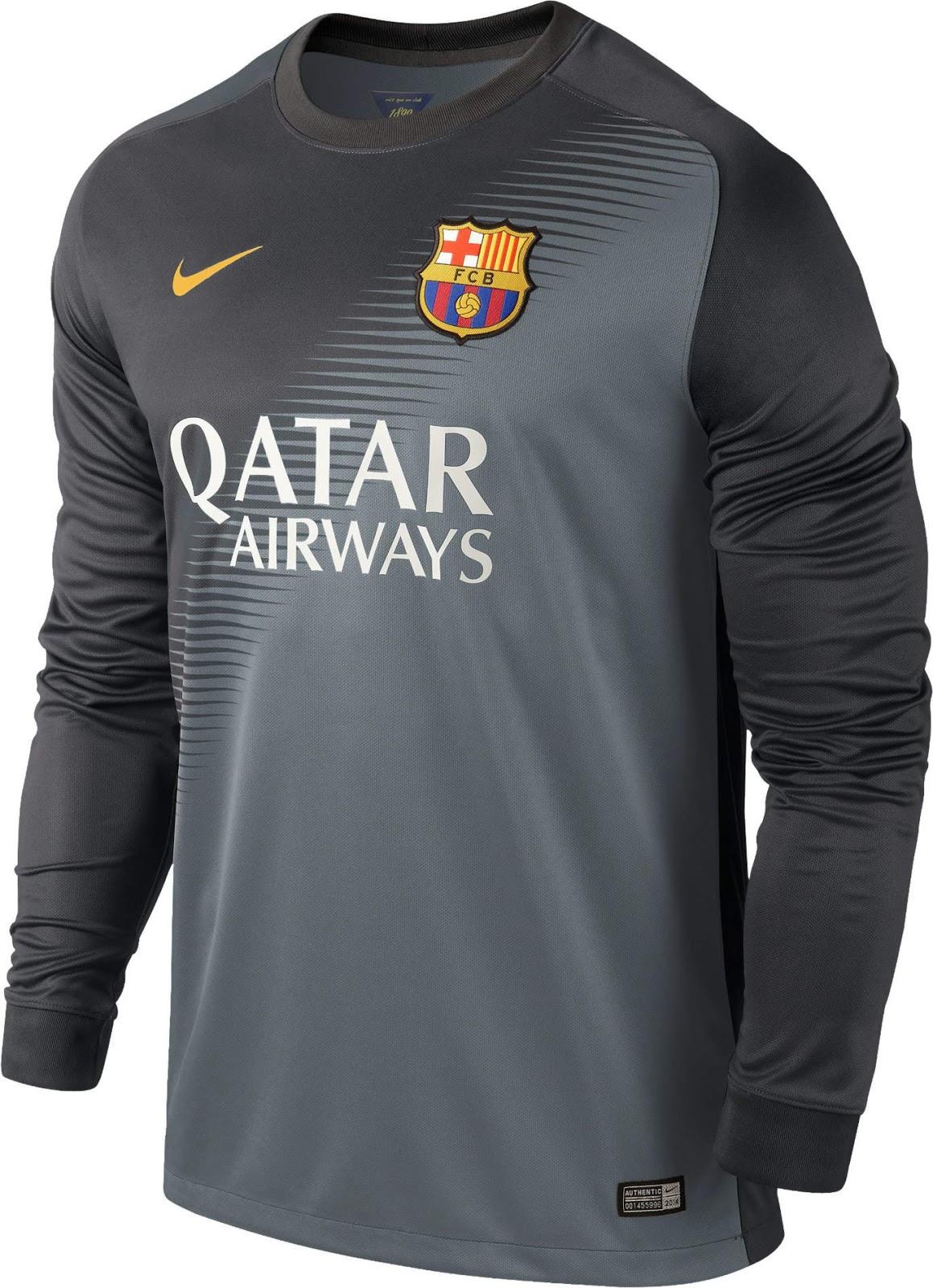 FlagWigs  FC Barcelona 2014-2015 Away Jersey Shirt Kits   Have a Fun ... 0422a62403fa9
