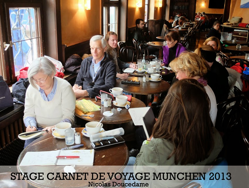 Carnets de voyage à Munich 2013